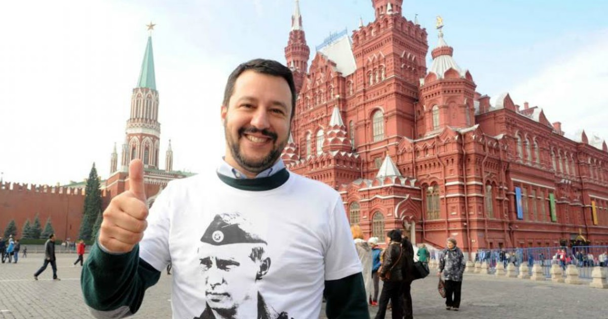 Salvini in Russia